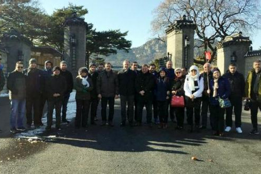ITSO üyeleri Japonya ve Güney Kore'de